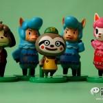 左から、ケント、カイゾー、レイジ、カイゾー、リサ