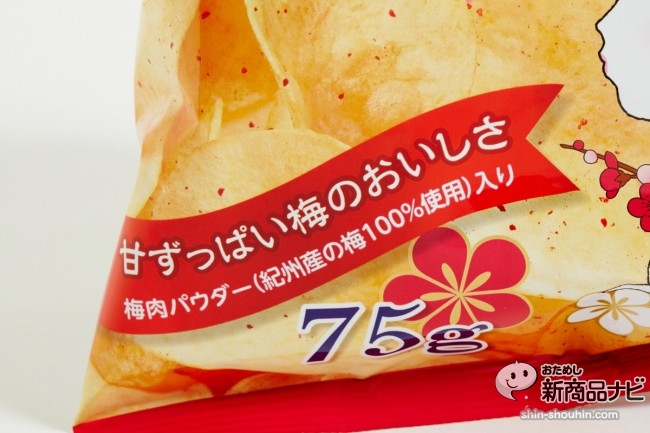 ポテトチップス小梅味23418