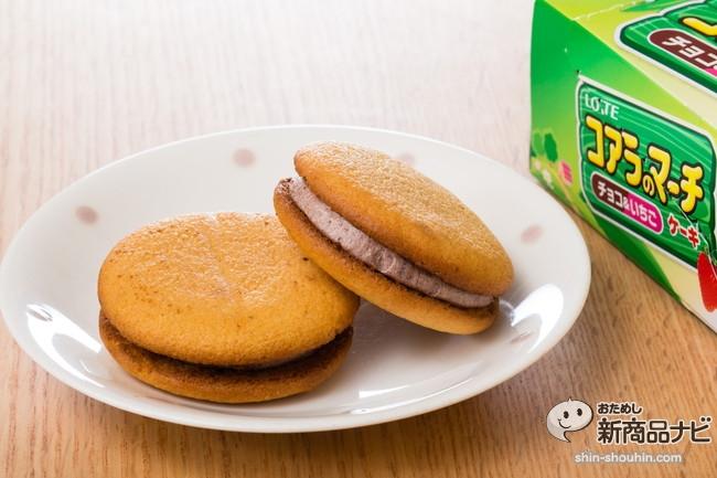 コアラのマーチケーキ<チョコ&いちご>IMG_8597