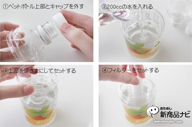 ペット ボトル 水 耕 栽培
